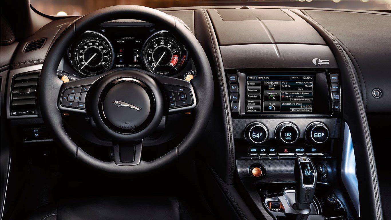 2015 Jaguar F Type R Coupe Interior Cockpit Wallpaper Jaguar F