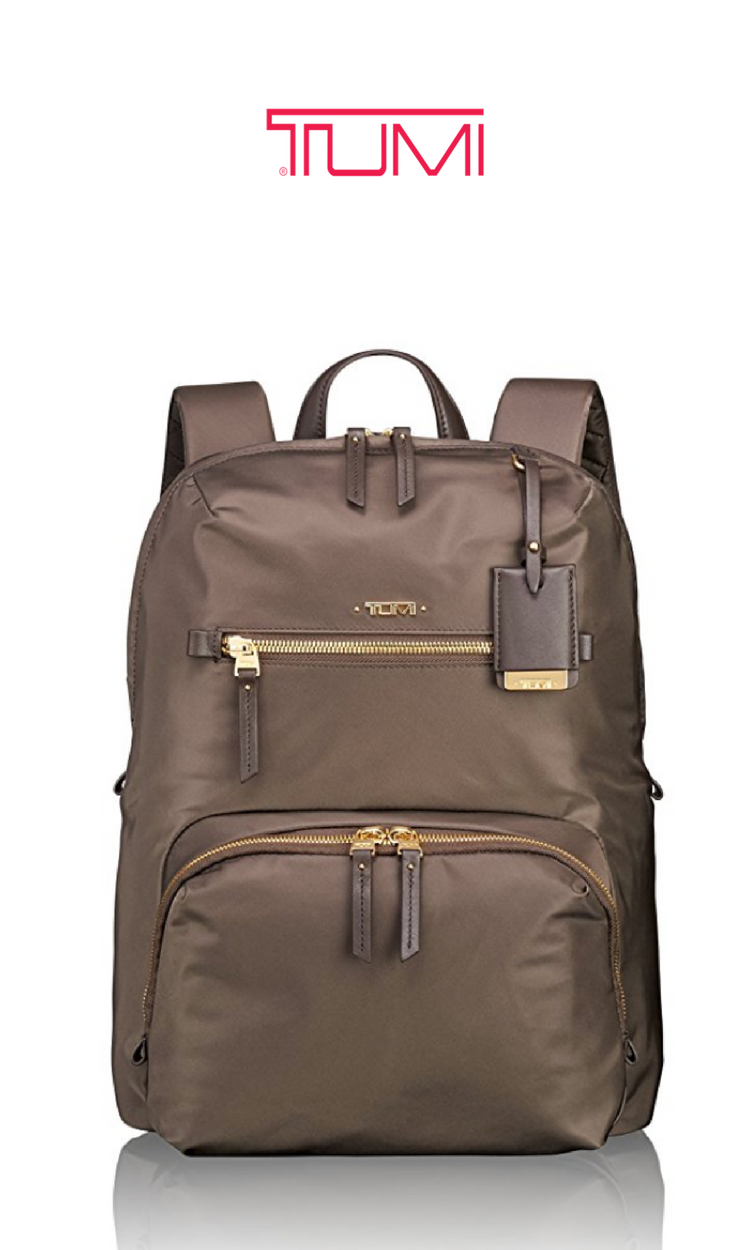 93c9de27a TUMI Women's Voyageur Halle Backpack | Mink | Click for More TUMI Backpacks!