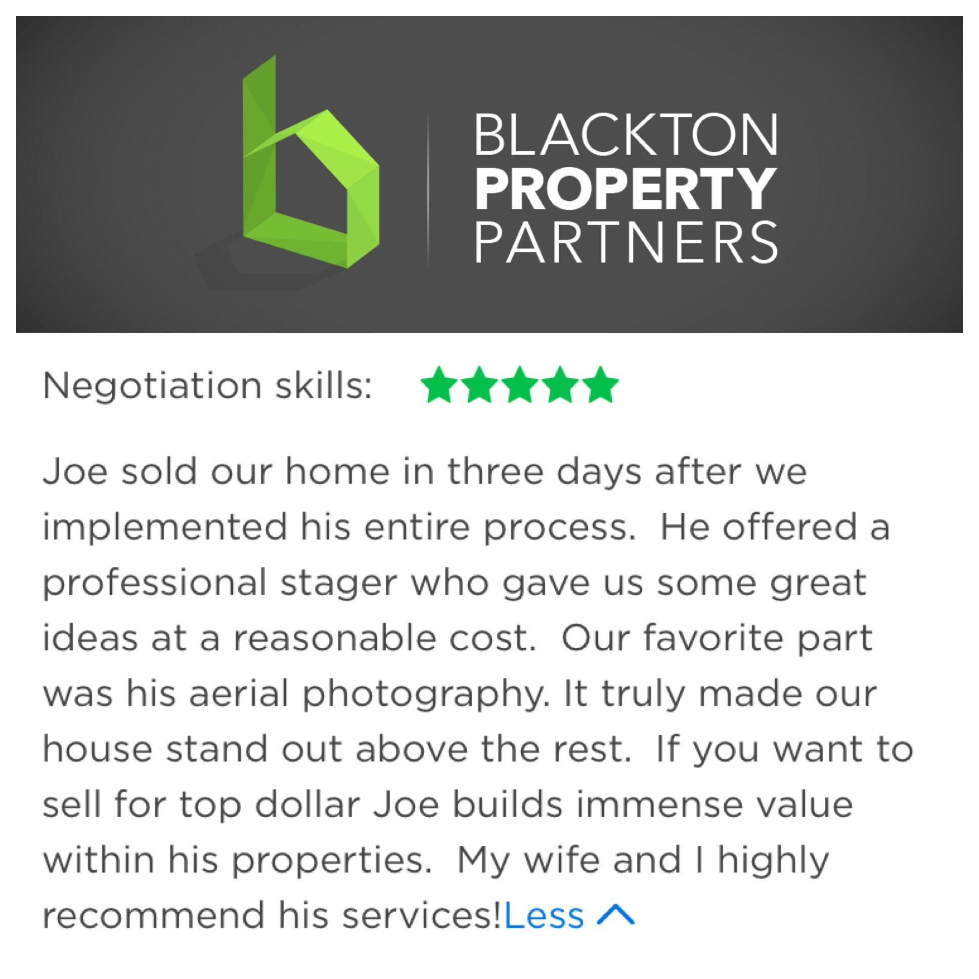 Blessed With Inspiring Clients Daily Blacktonpropertypartners