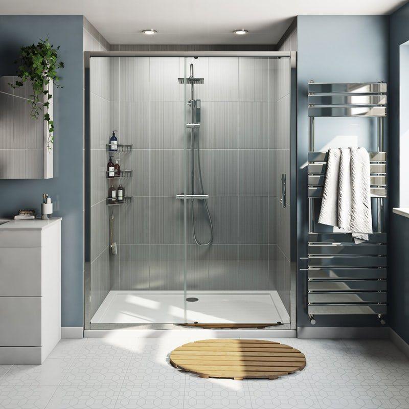 Orchard 6mm Framed Sliding Shower Door Shower Doors Bifold Shower Door Replacement Shower Doors