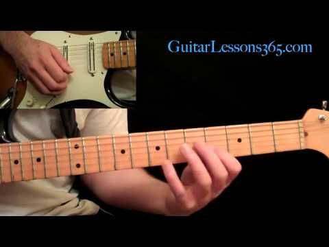 Thunderstruck Guitar Lesson Pt.1 - AC/DC - Intro - YouTube | Guitar ...