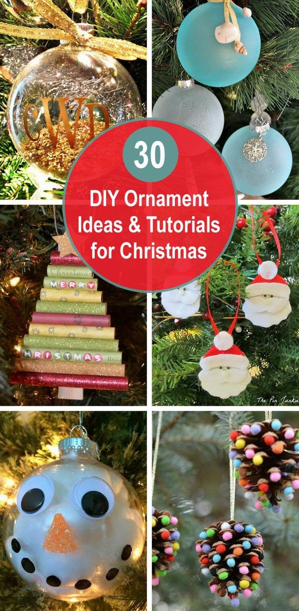 30+ DIY Ornament Ideas & Tutorials for Christmas trong