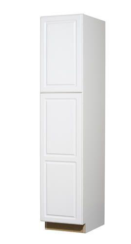 Bathroom Cabinet Ontario White Standard 2 Door Tall 18 Utility At Menards