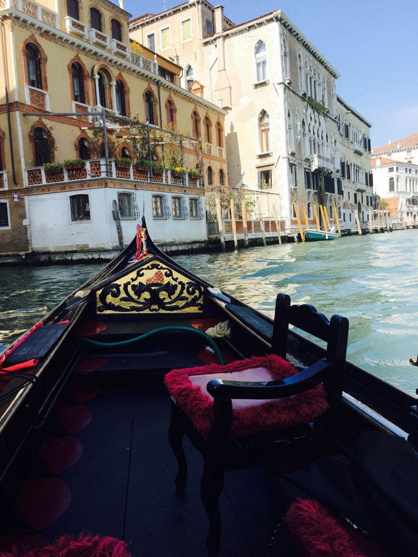 Venice, Italy. Just a gondola ride in a Venice canal