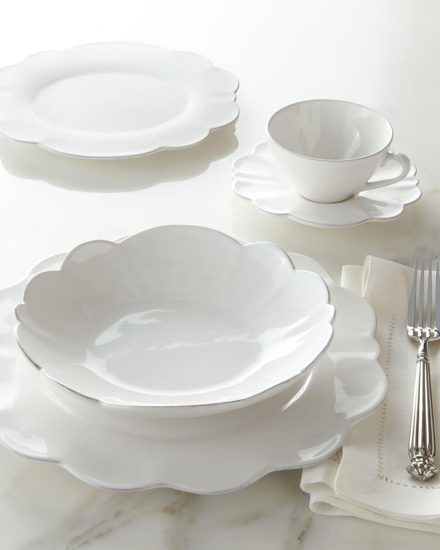 NM EXCLUSIVE 20-Piece Scallop Dinnerware Service & NM EXCLUSIVE 20-Piece Scallop Dinnerware Service | The Dish ...