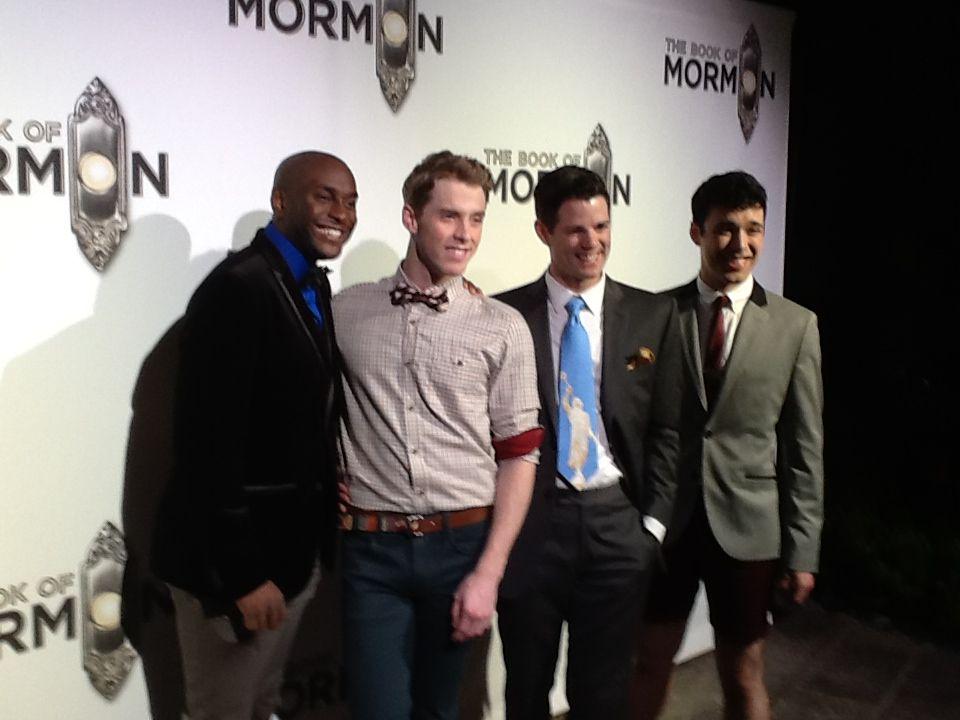 book of mormon broadway tour