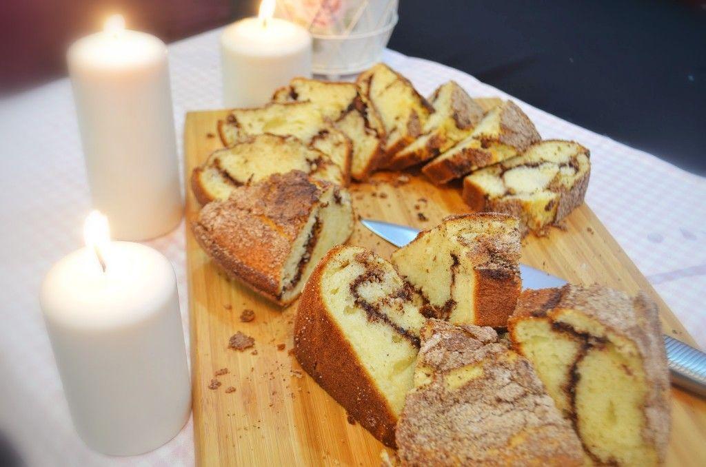 طريقة كيكة القرفة المقاربة لكيكة ستاربكس Cinnamon Desserts Food Desserts