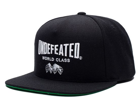 World Class Snapback Cap by UNDEFEATED  f92c6c7baea2
