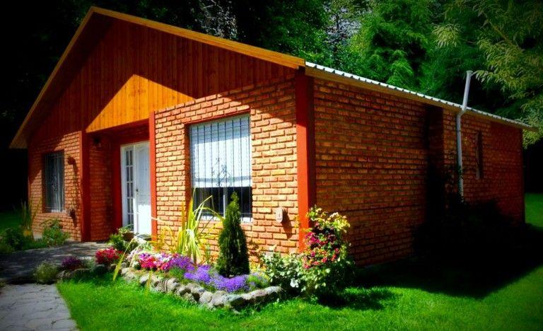 Casas de campo hechas con ladrillo vista Diseños de