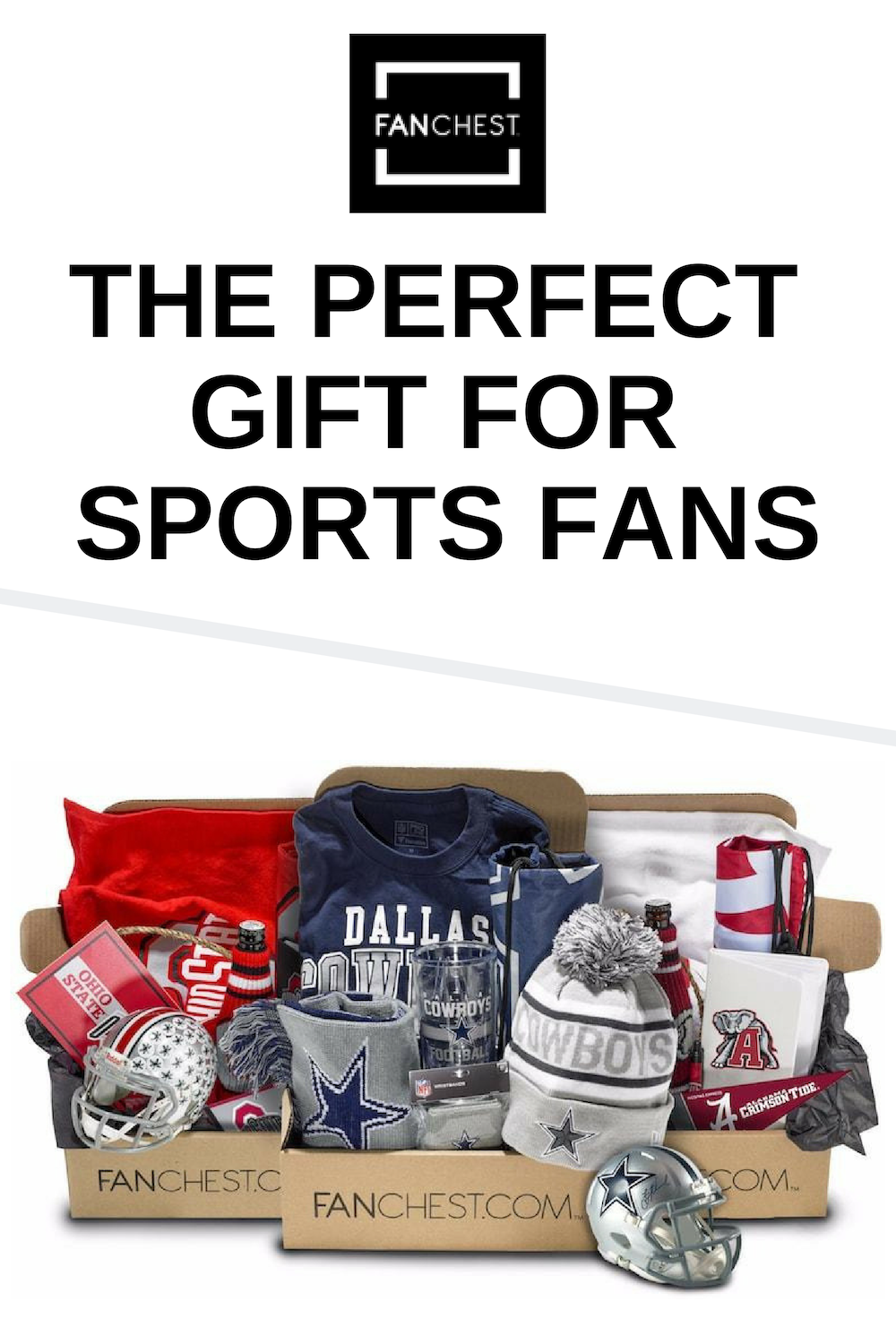 The Perfect Gift For Sports Fans Nfl Nhl And College Bo