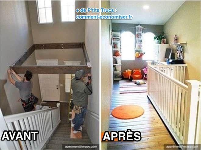 18 Idées Ingénieuses Pour Économiser de la Place à la Maison