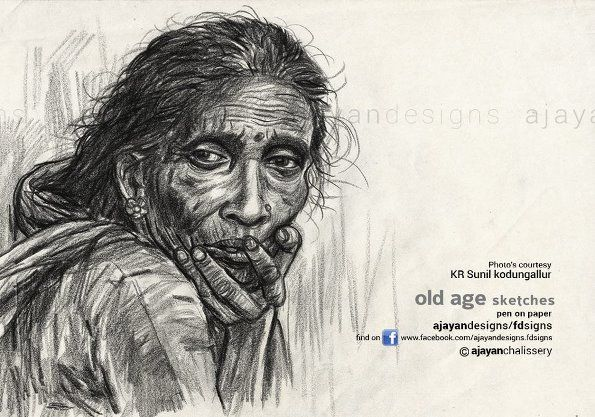 25 stunning illustration and pencil drawings by kerala artist ajayan chalissery