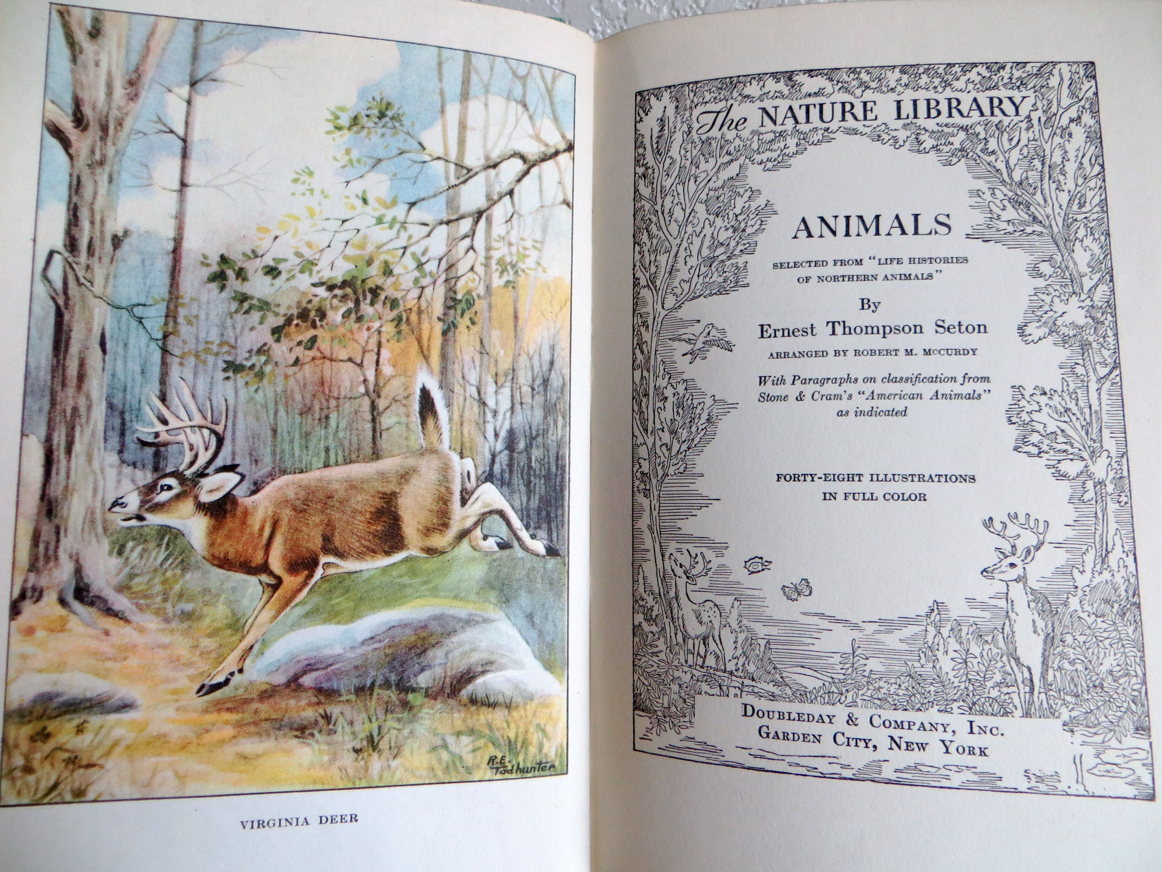 "I found six books in this series ""The Nature Library"" ~ the nature prints in each book are incredible."