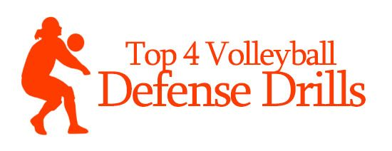 Top 4 Volleyball Defense Drills Top Volleyball Drills Volleyball Training Volleyball Drills Volleyball Workouts