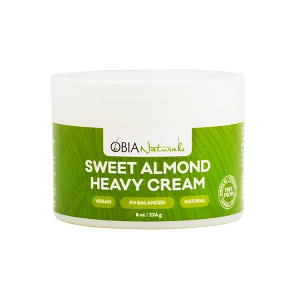 OBIA Naturals Sweet Almond 8-ounce Heavy Cream