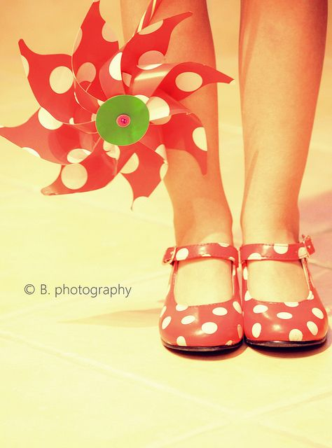 Love the shoes and love the pinwheel