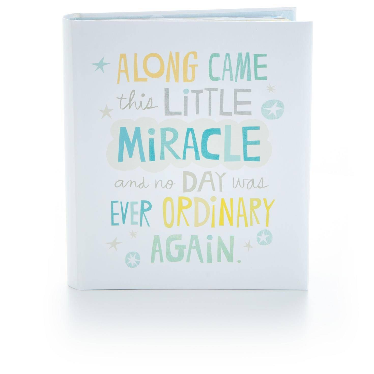 Little miracle baby boy memory book baby boy memory book