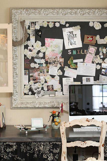 PIZARRA CON MARCO | Proyectos que intentar | Pinterest | Pizarra ...