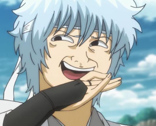 Sakata Gintoki Troll Face