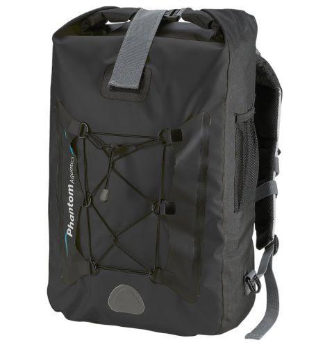 Phantom Aquatics Premium Waterproof Backpack Dry Bag, 25-Liter, Black 905a038354