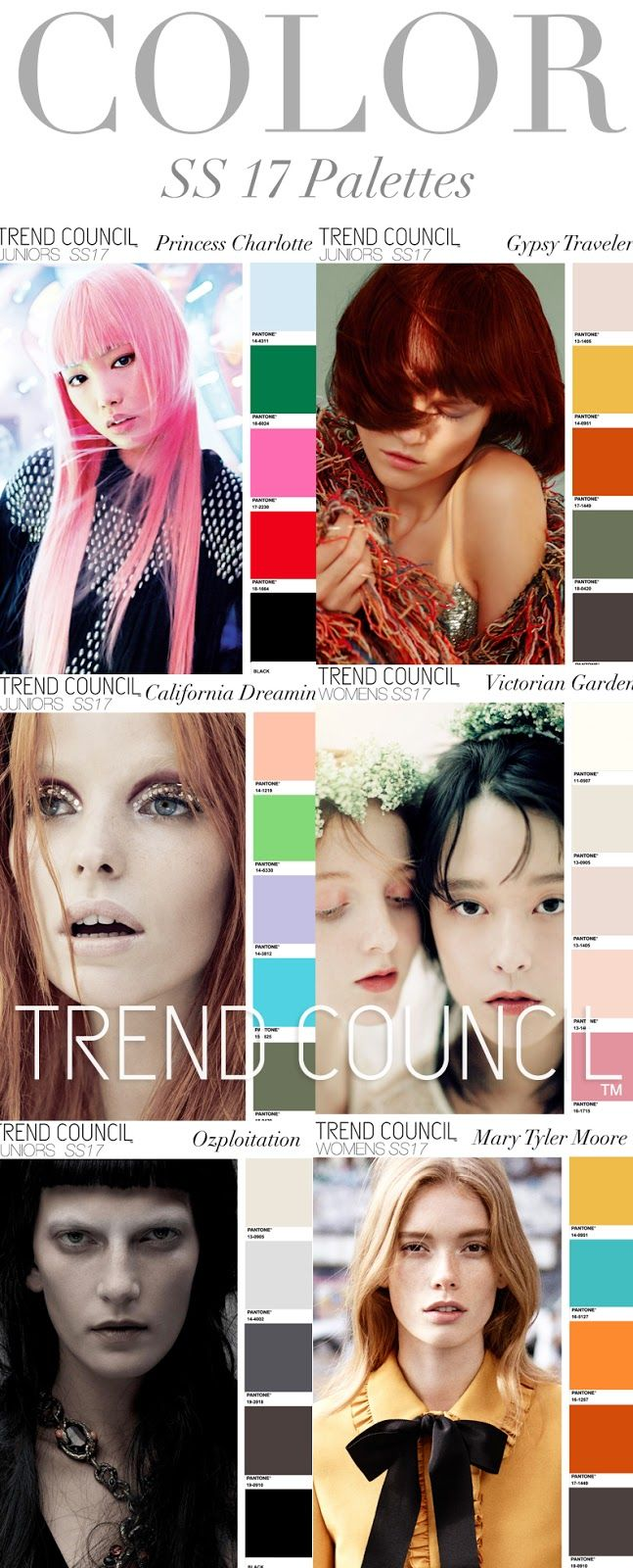 TRENDS // TREND COUNCIL - COLORS . SS 2017 (FASHION ...