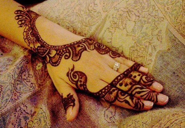 Simple Eid Mehndi Designs 2013 : Eid mehndi designs for pakistani girls and henna