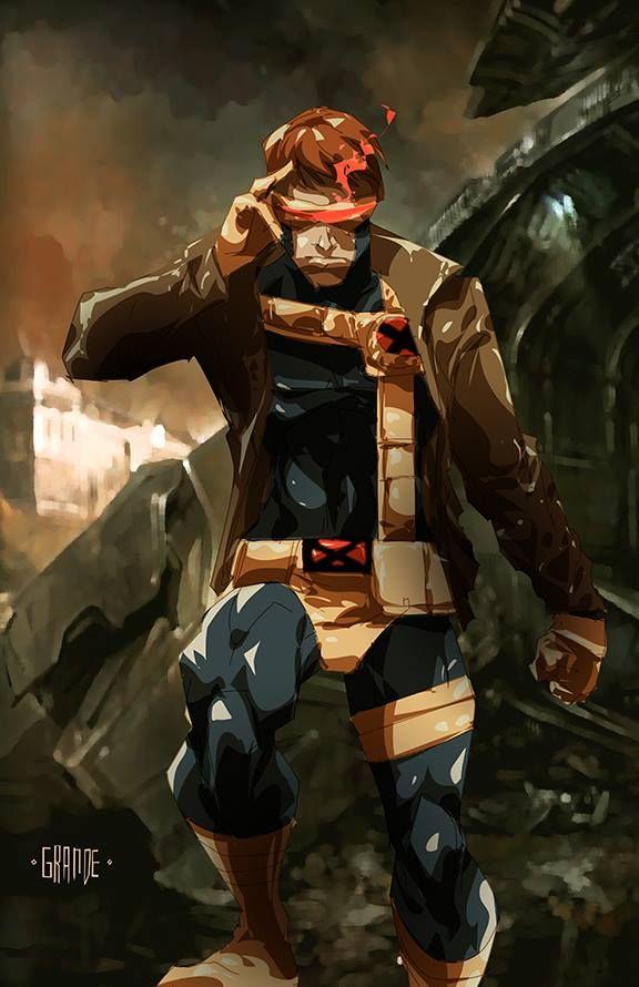 Cyclops By Johnnymorbius Deviantart Com On Deviantart Cyclops Marvel Marvel Comics Art Xmen Comics