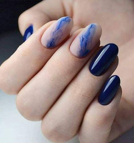 63 ideas nails acrylic short summer 2018 blue for 2019