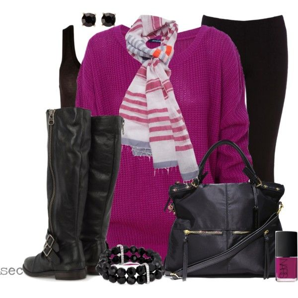 Oversized Sweater, created by coombsie24 on Polyvore