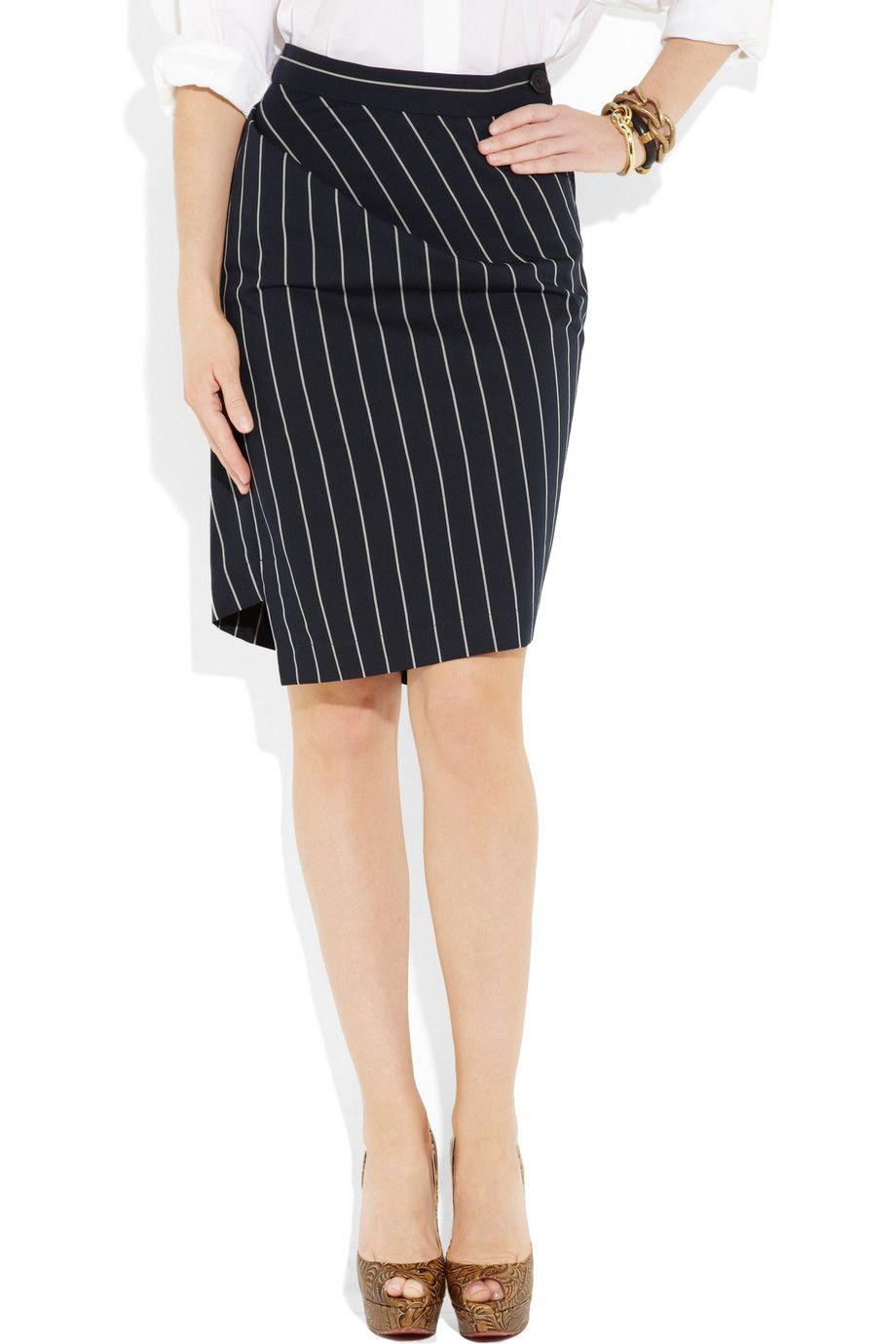 Pin Stripe Skirt 65