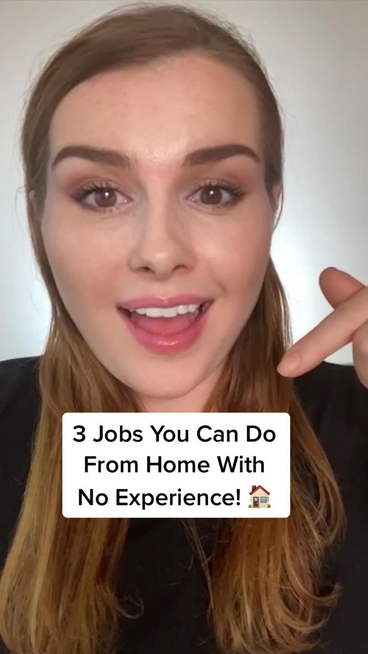 3 Jobs You Can Do From Home With No Experience!