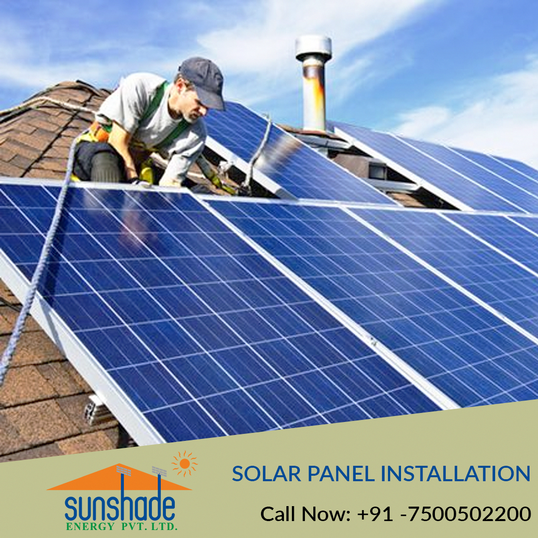 Looking For Solar Panel Installation In Uttar Pradesh Sunshade Provides The Best Solution For Solar Pa In 2020 Solar Panels Solar Panel Installation Best Solar Panels