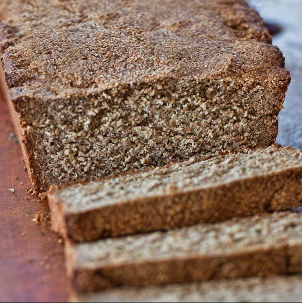 This quick Swedish Rye Bread is easy to make, moist, but dense enough to slice thinly and accommodate the moistest of toppings for a beautiful appetizer.
