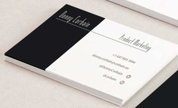 5 Tips To Create The Perfect Business Card Real Men Real Style