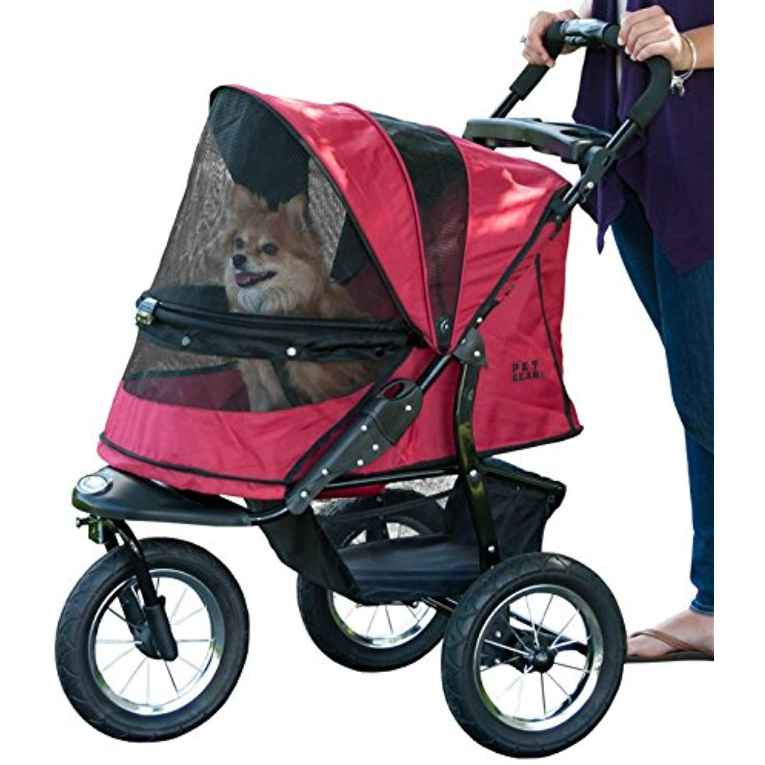 Pet Gear NoZip Jogger Pet Stroller for Cats/Dogs
