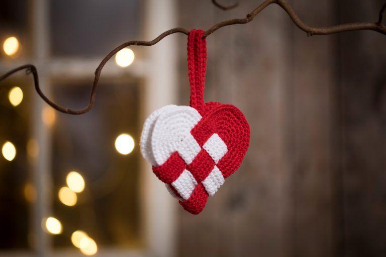Lav hæklet julepynt - 9 skønne idéer - CCHobby Blog #hækletjul