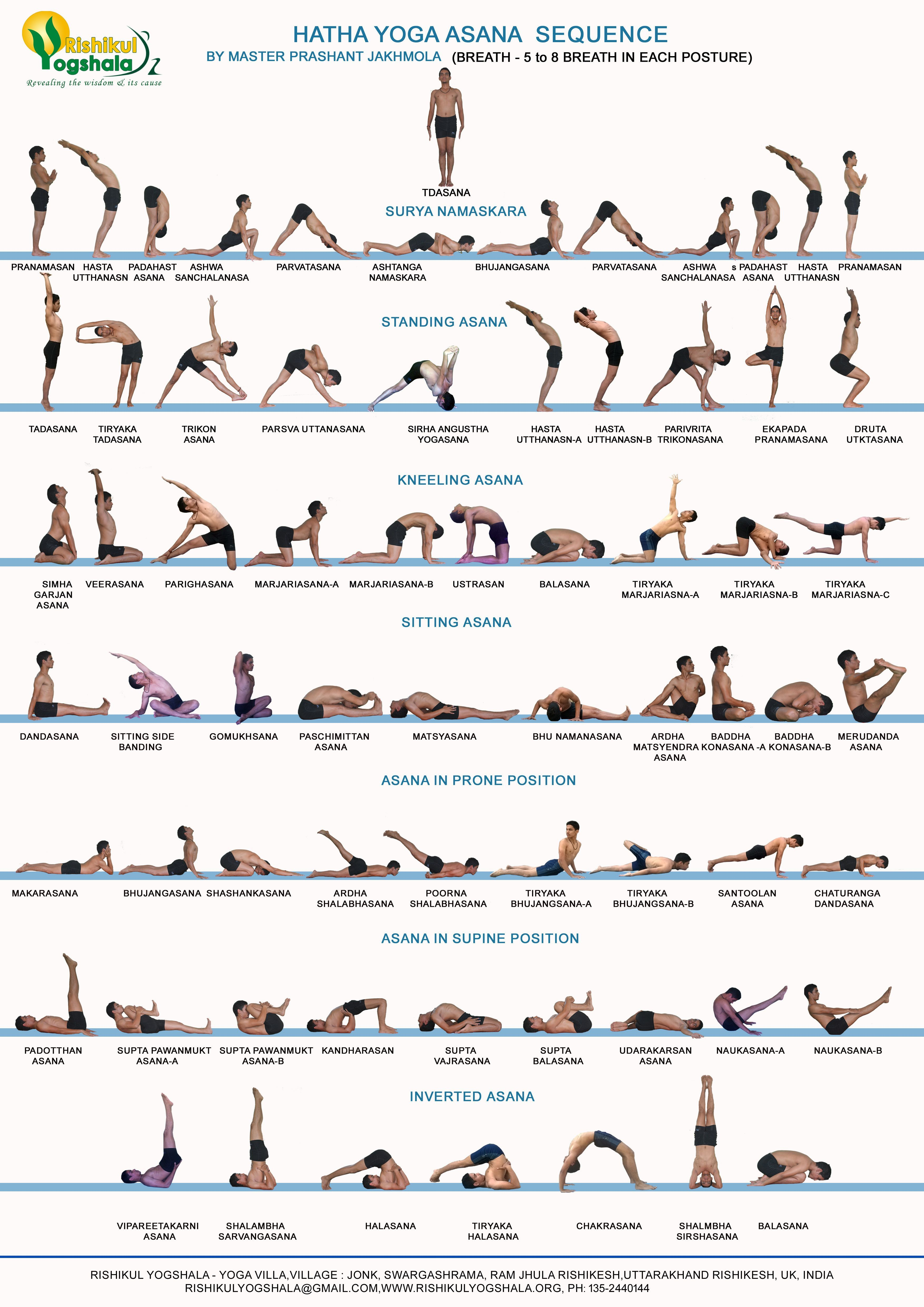 Hatha Yoga Primary Series By Yogi Prashant Hatha Yoga Training India