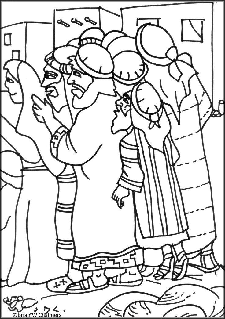 Zaccheus Coloring Page Jesus Coloring Pages Sunday School Coloring Pages Bible Coloring Pages