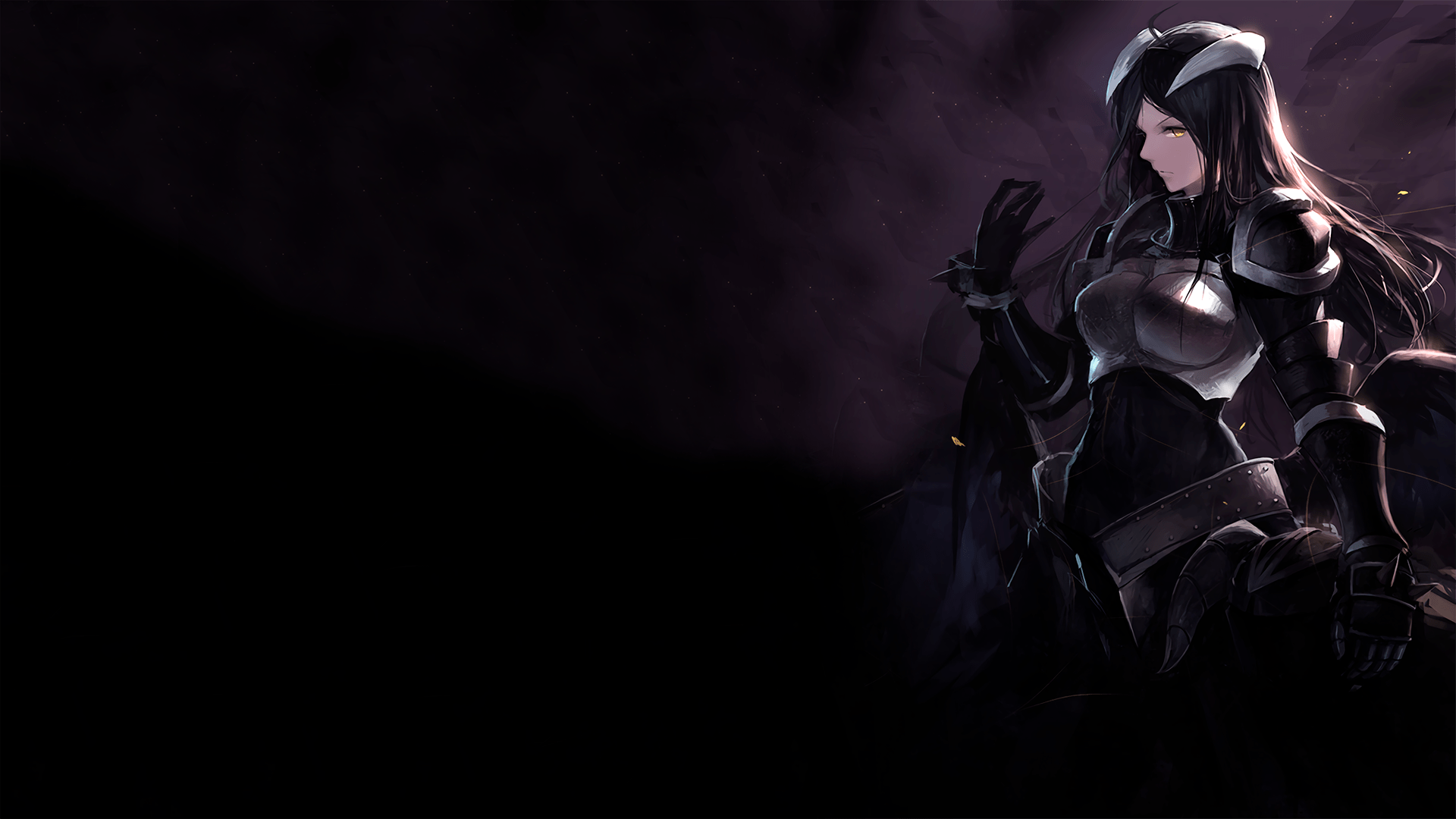 Anime Overlord Albedo HD Wallpaper   Background Image