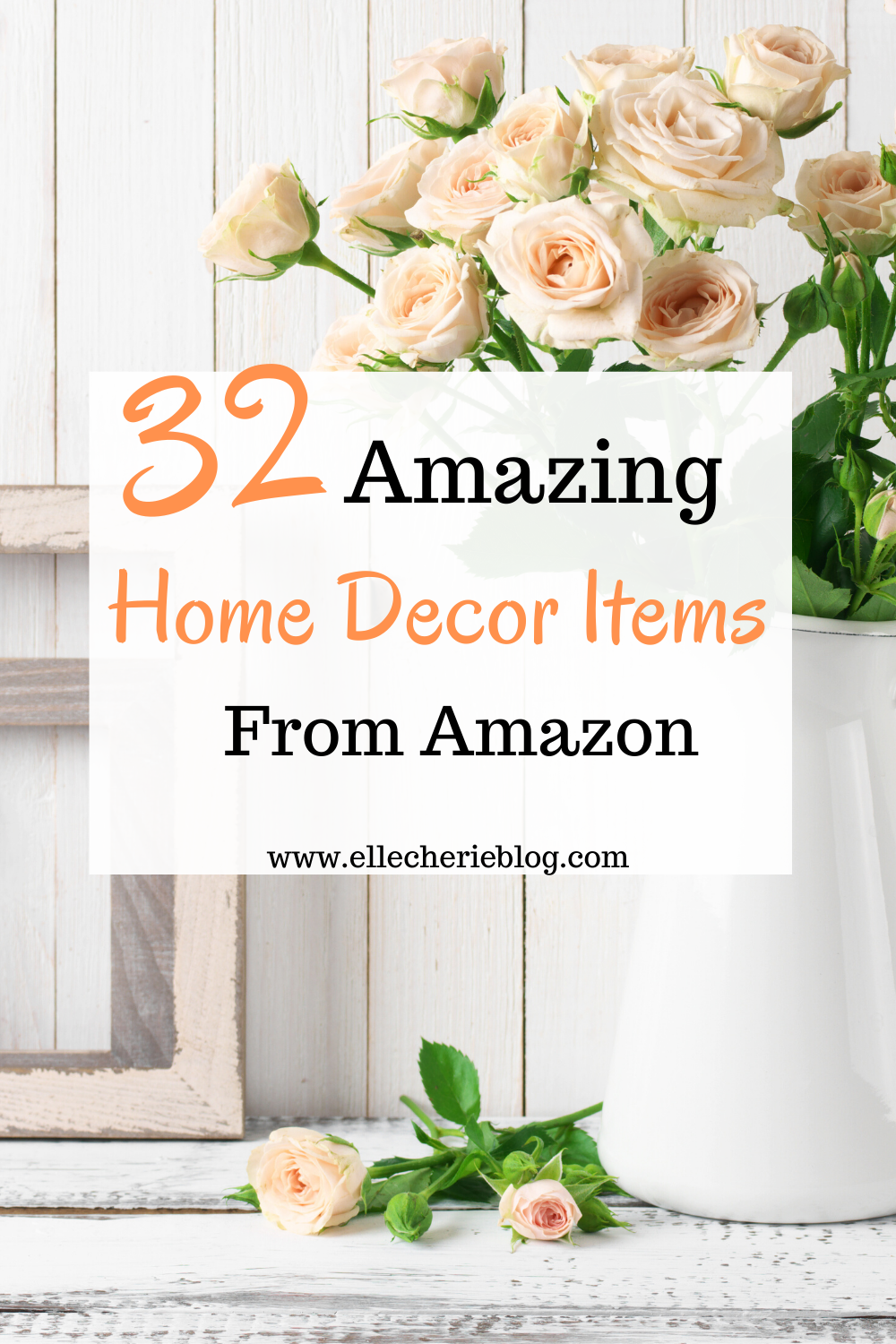 Are you looking to refresh your home with some new decor items? Need some decor ideas to make your bedroom, living room or kitchen pop! Click now to see our round up list of 32 amazing home decor ideas. #homedecor #decor #decorideas #decoration