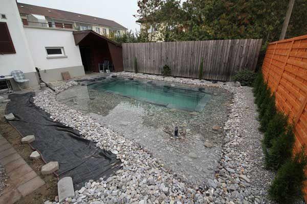 VorherNachher Gartengestaltung Diy schwimmbad, Pool