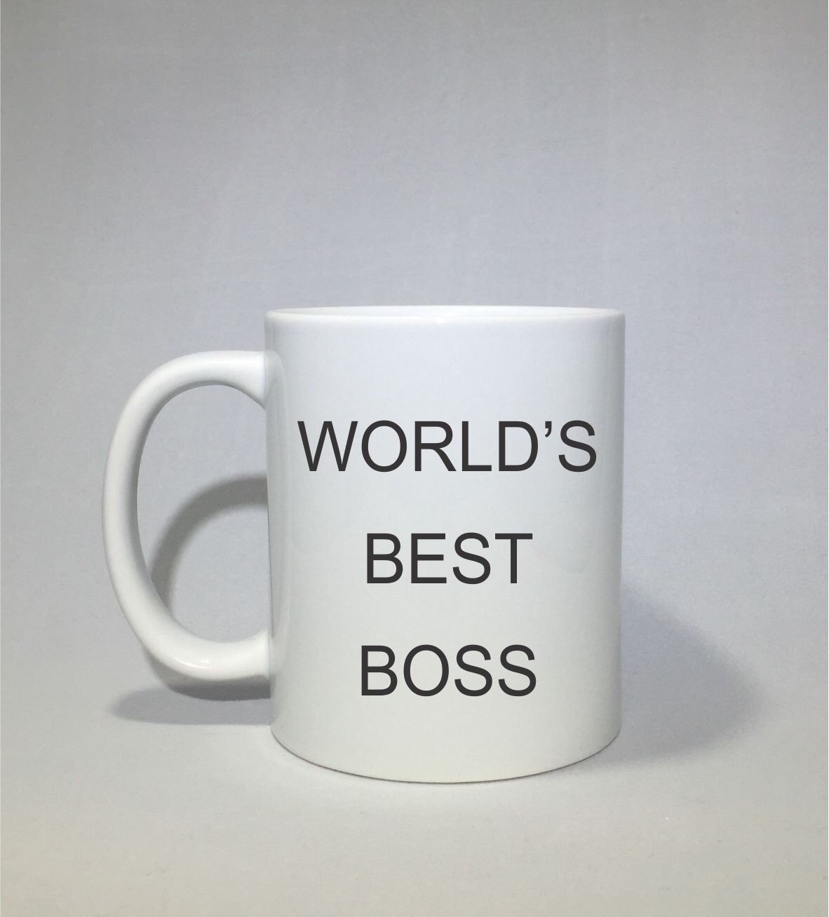 8db98b8a0a3 Excited to share this item from my #etsy shop: Worlds Best Boss Coffee Mug  The Office Coffee Cup