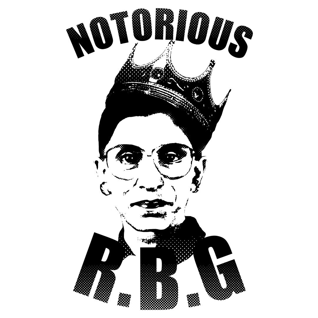 Notorious RBG (Ruth Bader Ginsburg) TShirts LookHUMAN