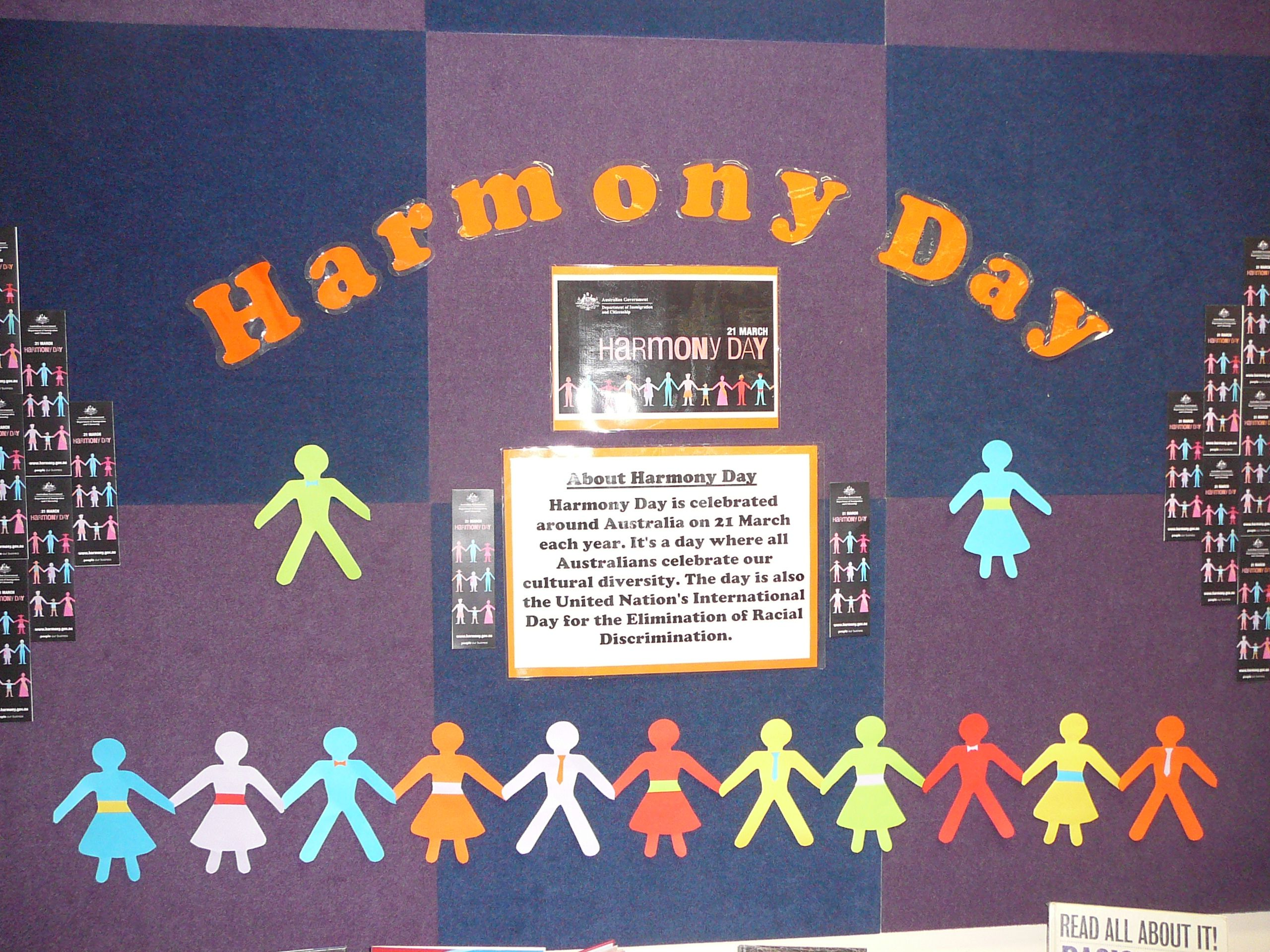 Harmony Day Scc Library
