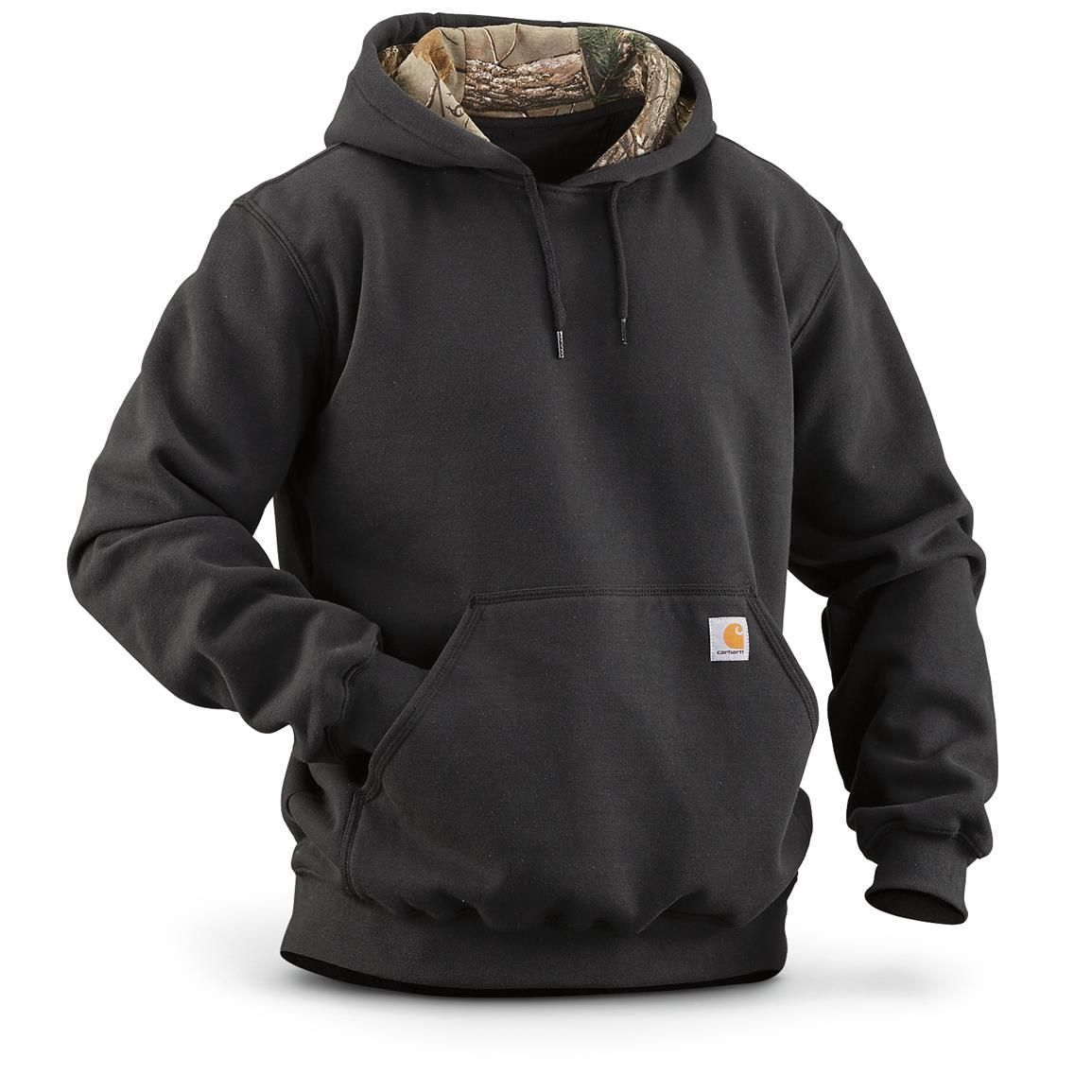 Carhartt Houghton Camo Hoodie Sweathshirt 635655 Sweatshirts Hoodies At Sportsman S Guide Mens Sweatshirts Mens Outfits North Face Jacket Mens [ 1155 x 1155 Pixel ]