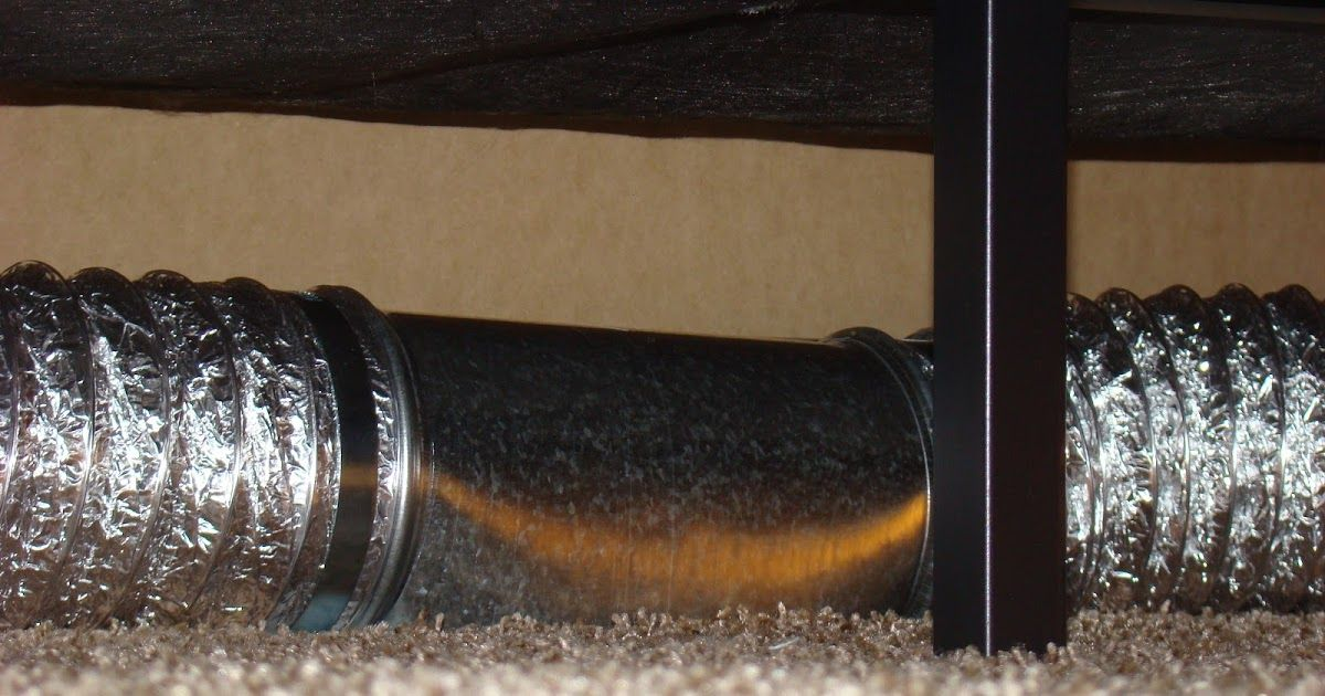 New Invention Under The Bed Venting Floor Vents Vent Extender Wall Vents