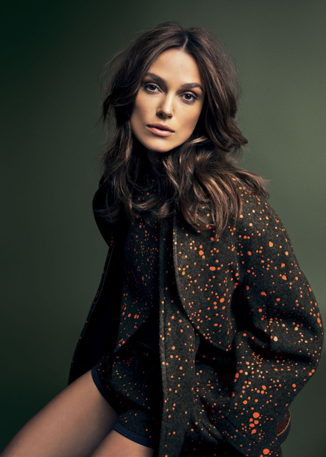 Keira Knightley, photographed by Karen Collins for Glamour ... Keira Knightley