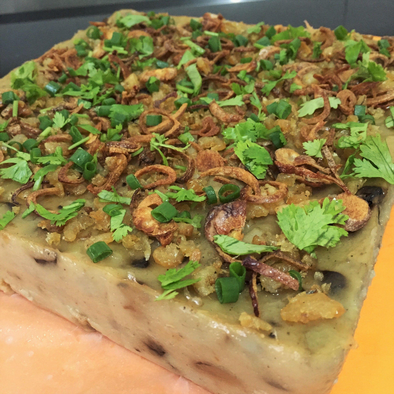 Brown rice flour mushroom cake recipe