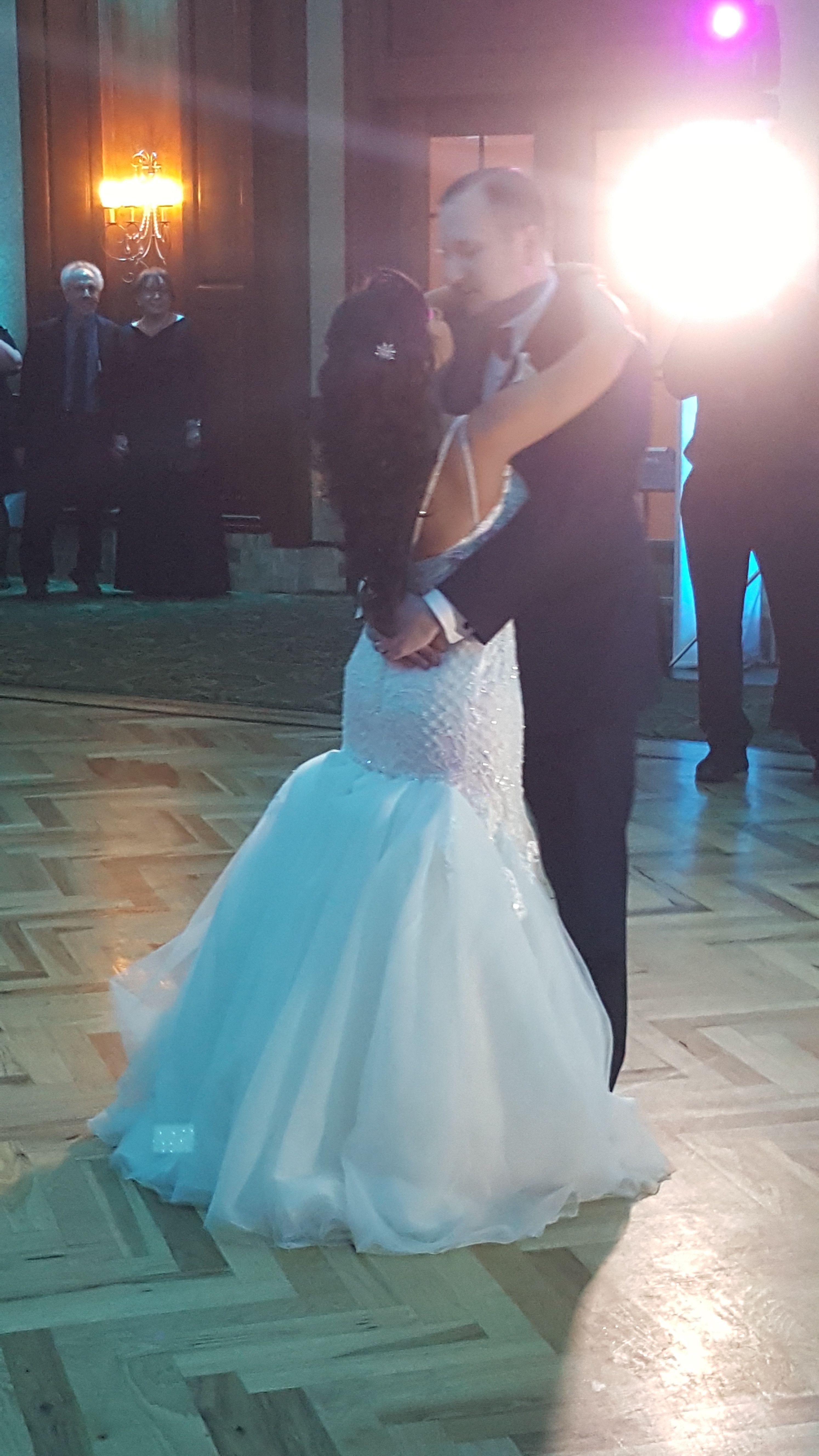 Wedding dress train bustle  Tulle mermaid bustle  WeddingDress  Pinterest  Bustle and Wedding