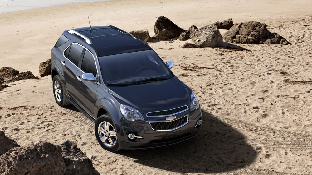 Two Beloved Suvs Awarded Top Safety Ratings The Chevy Equinox And